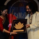 Receiving the SaMaPa Award December 2015
