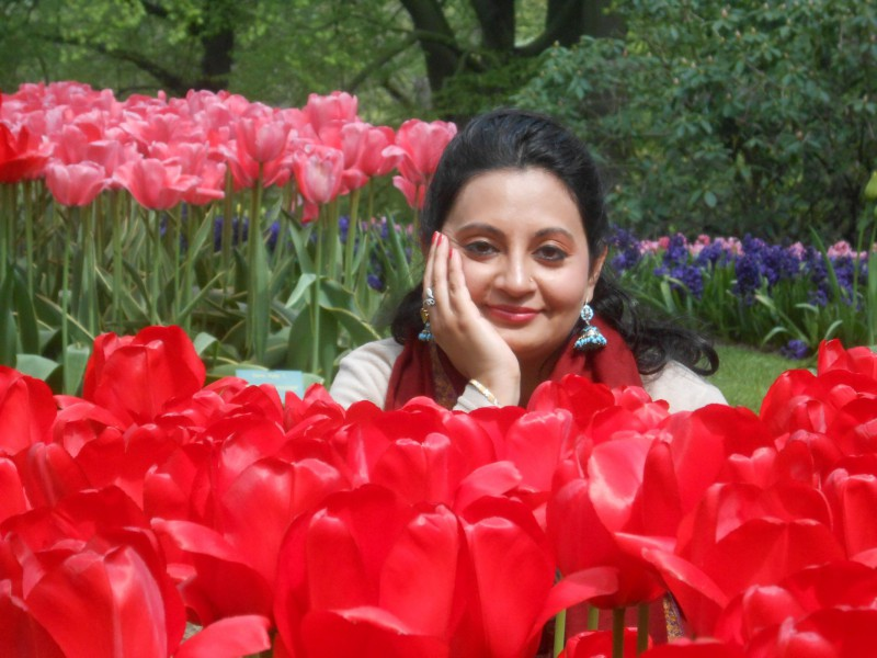 Keukenhof Tulip gardens_compressed
