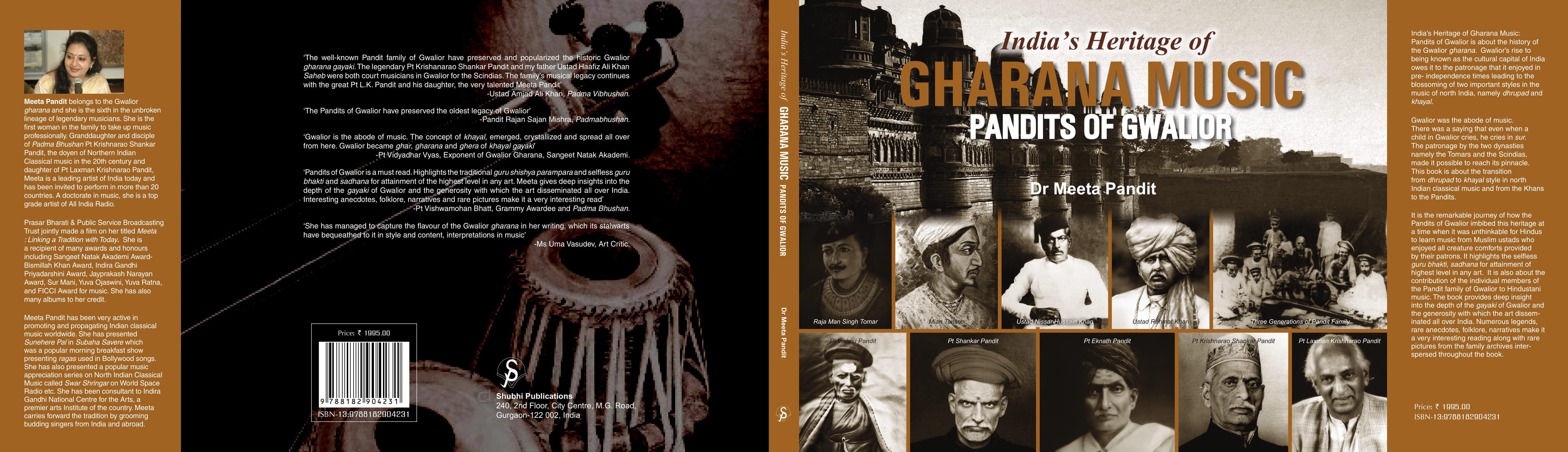 india's heritage of gharana music